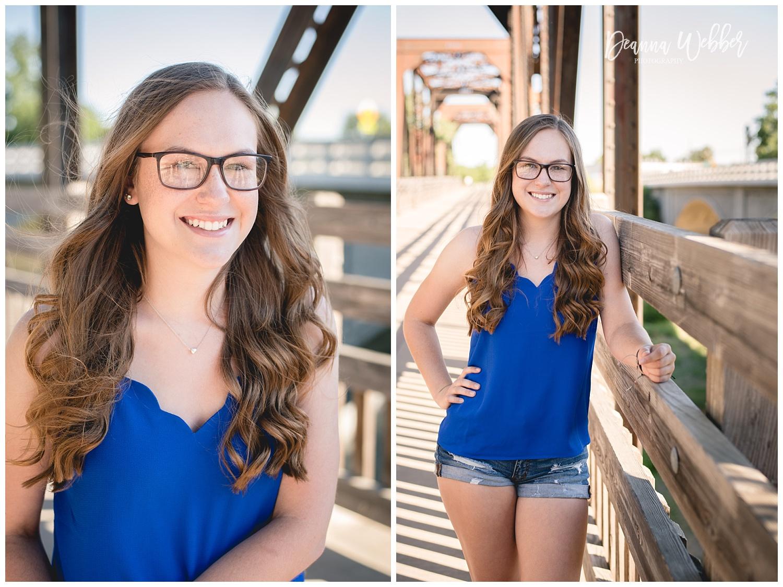 Charleston, SC Senior Photographer, senior girl on bridge