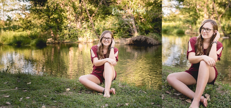 Charleston, SC Senior Photographer, senior girl by water