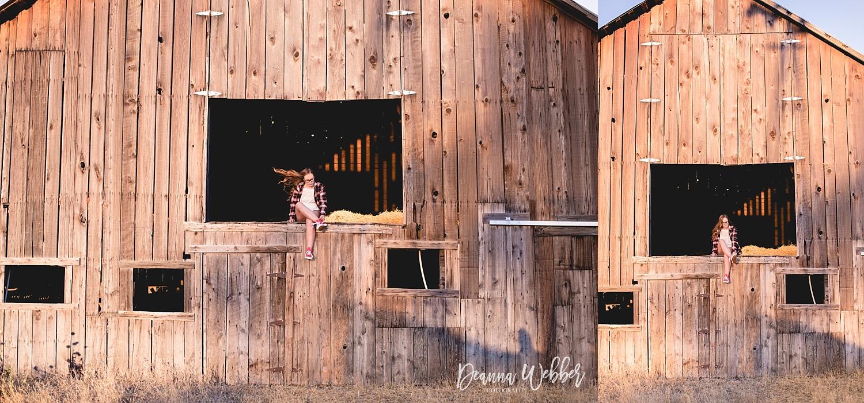 Charleston, SC Senior Photographer, senior girl, old rustic barn