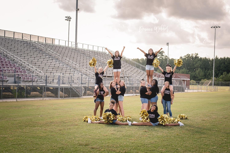 Ashley Ridge JV Cheerleaders, Summerville, SC