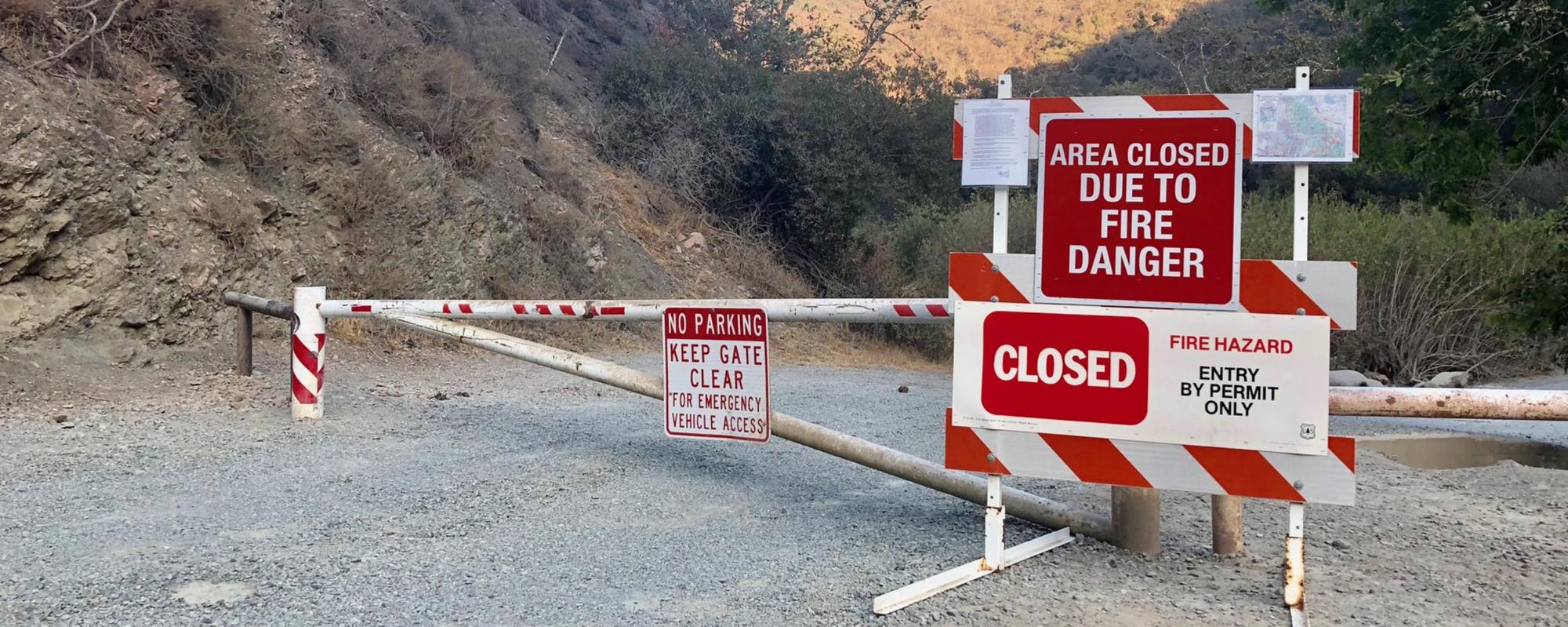 Fire Risk Zones