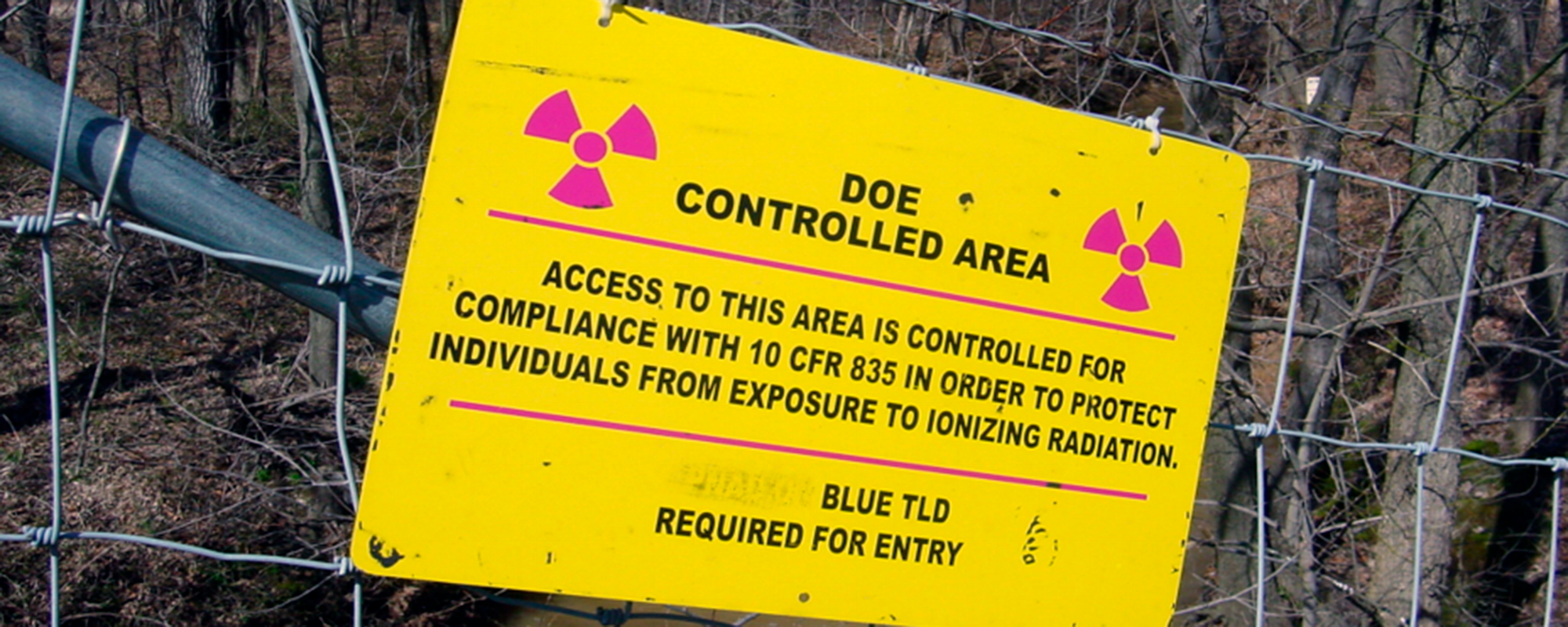 Radioactive Areas