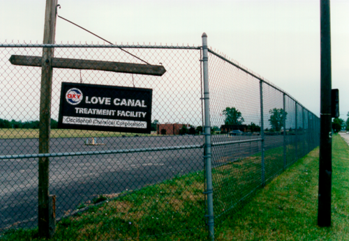 Love canal Contamination -