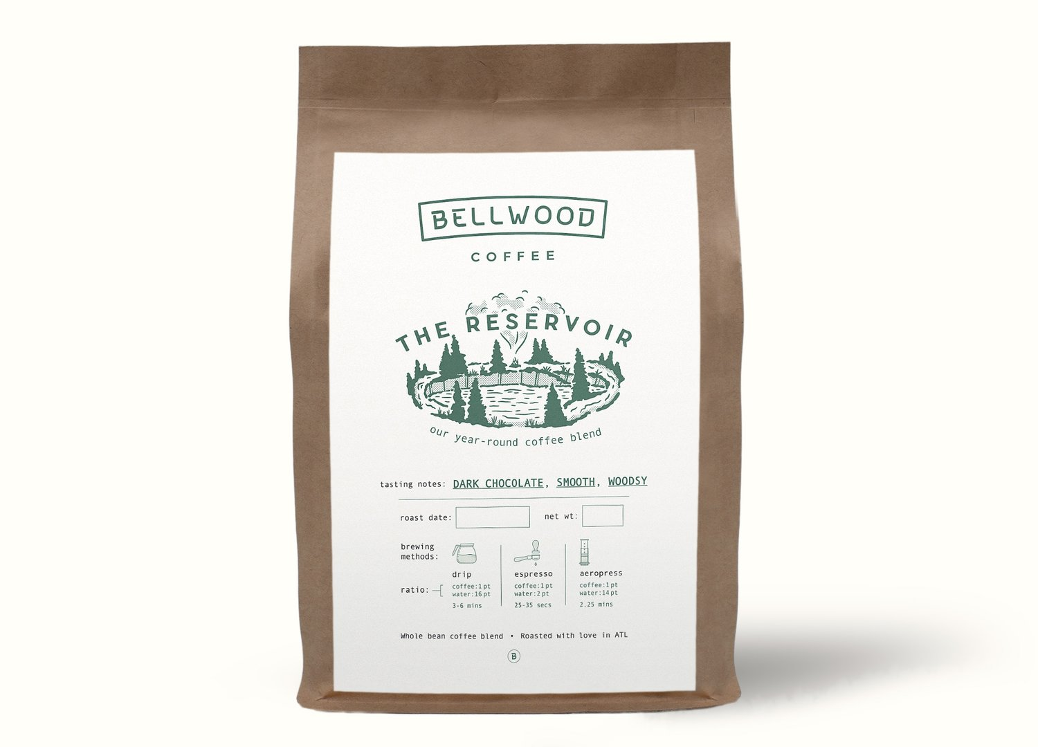 The Reservoir - A safe haven for all coffee drinkers. This year-round blend is sure to please the masses.