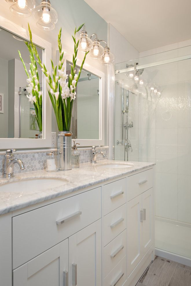 yorktowne-cabinets-for-a-traditional-bathroom-with-a-double-vanity-and-steveston-townhouse-by-the-spotted-frog-designs.jpg