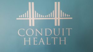 Conduit Health , Telepsychiatry Service. Photo courtesy of Dr Gregory Sam.