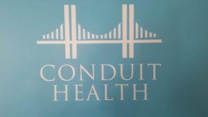 Conduit Health , Telepsychiatry Service. Photo courtesy of Dr Gregory Sam.