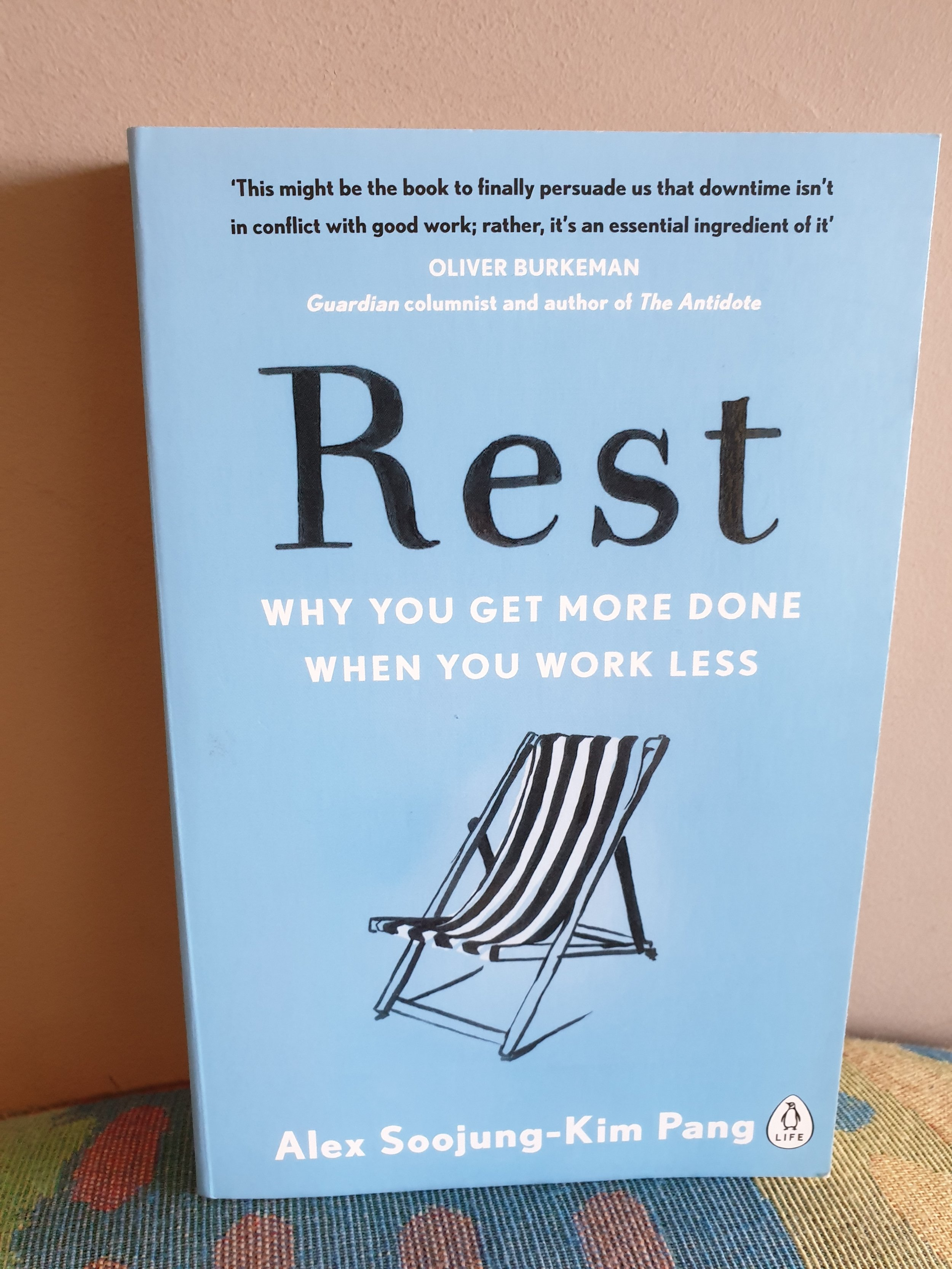 Rest book by Alex Soojung-Kim Pang Silicon Valley on Rest and Self Care. From TheMedicalStartup.com