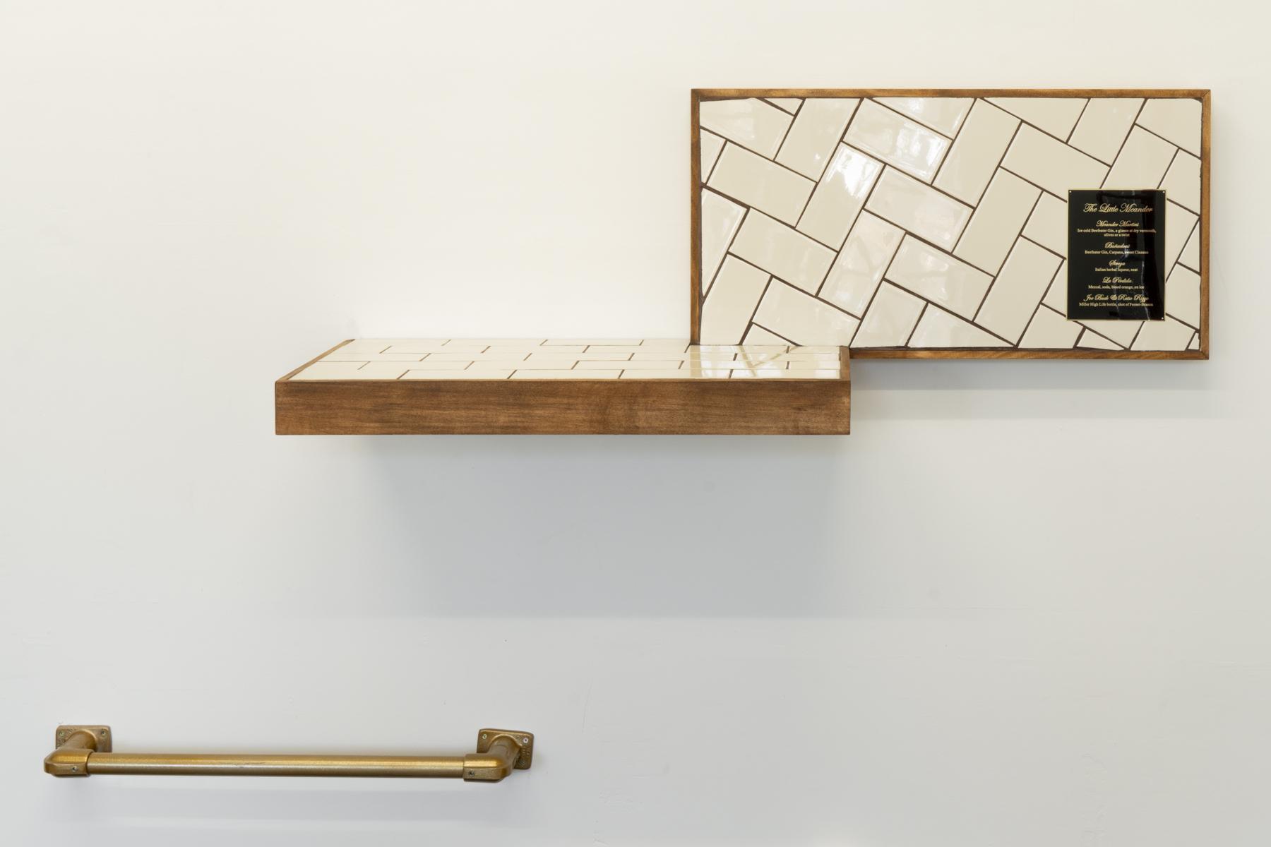 Bar Shelf (a la carte), 2019