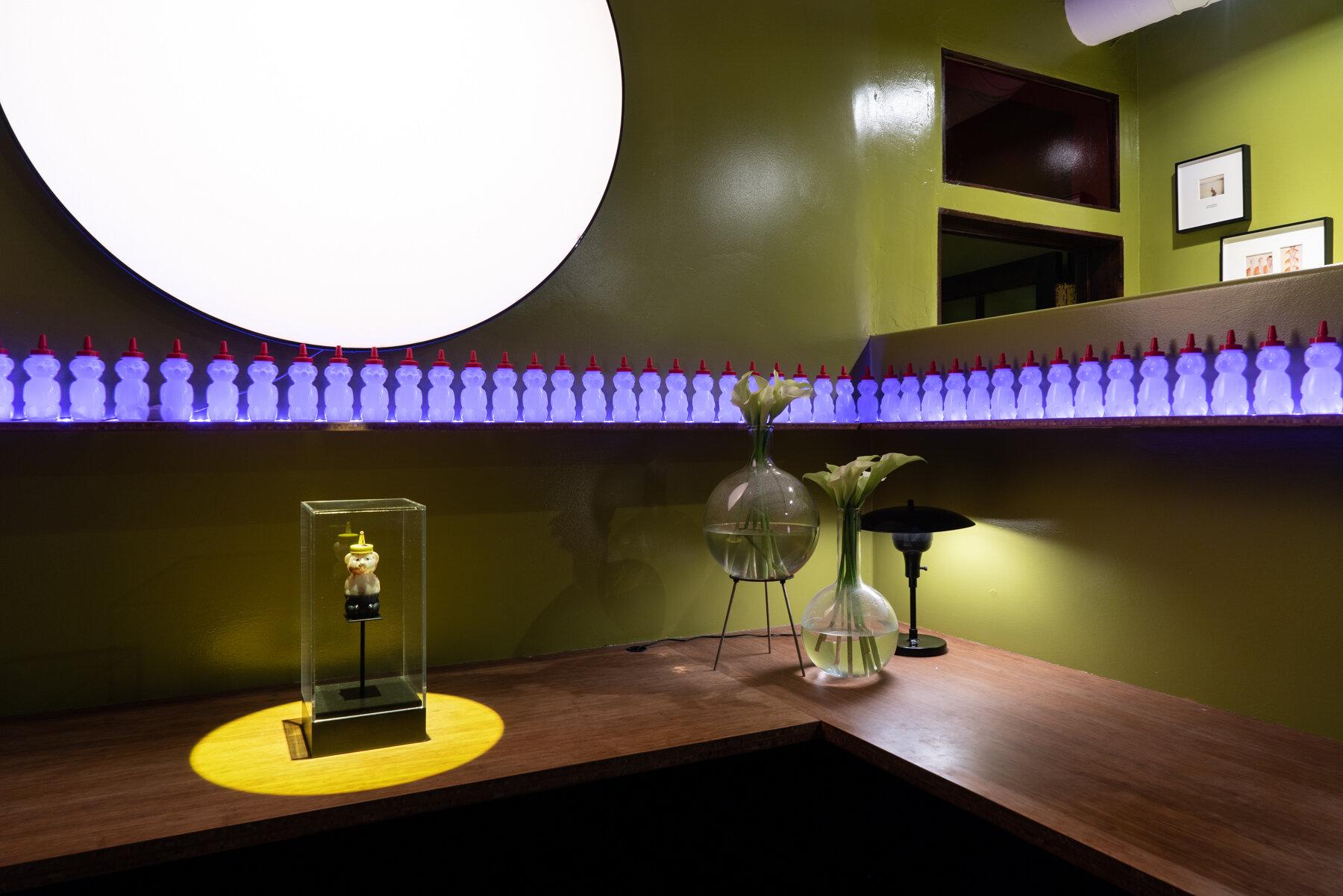 Installation view Psycho Salon, O-Town House Photography: Riccardo Banfi