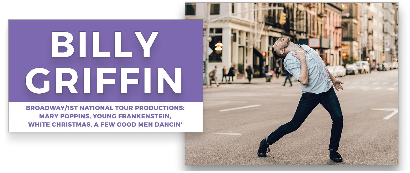 billy-griffin | Stage Door Workshops | In-Studio Workshops, NYC LA Dance Trips, Broadway Dance Master Classes, Choreography, Intensives | Broadway, So You Think You Can Dance, Hamilton, Wicked, Aladdin, World of Dance, Beyonce, Alvin Ailey, Shaping Sound