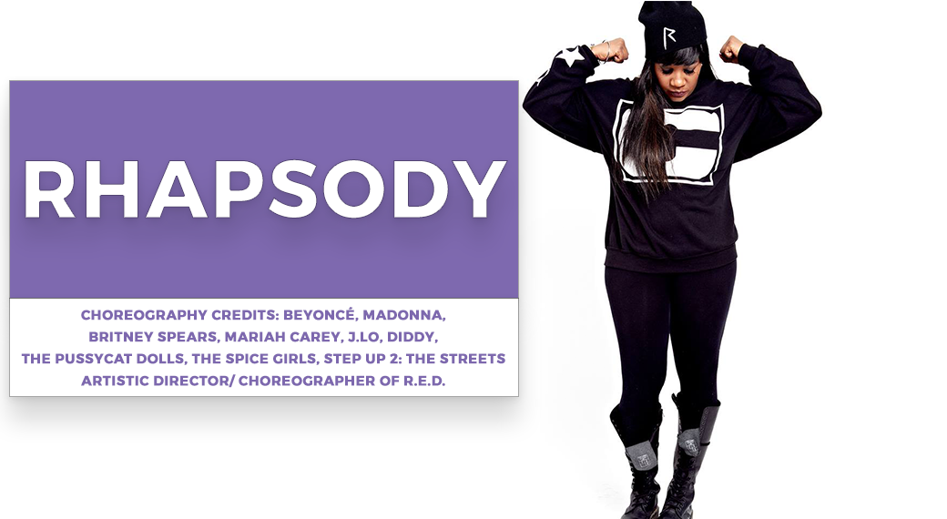 rhapsody | Stage Door Workshops | In-Studio Workshops, NYC LA Dance Trips, Broadway Dance Master Classes, Choreography, Intensives | Broadway, So You Think You Can Dance, Hamilton, Wicked, Aladdin, World of Dance, Beyonce, Alvin Ailey, Shaping Sound