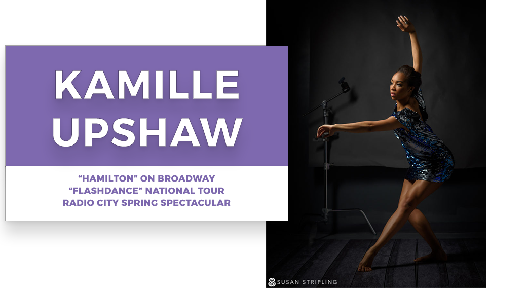 kamille upshaw | Stage Door Workshops | In-Studio Workshops, NYC LA Dance Trips, Broadway Dance Master Classes, Choreography, Intensives | Broadway, So You Think You Can Dance, Hamilton, Wicked, Aladdin, World of Dance, Beyonce, Alvin Ailey, Shaping Sound