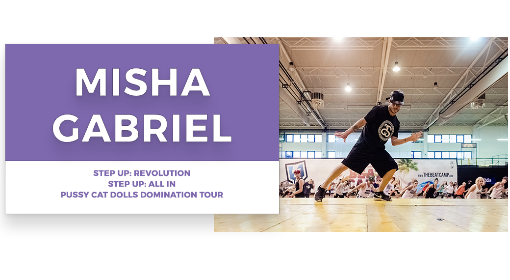 misha gabriel  | Stage Door Workshops | In-Studio Workshops, NYC LA Dance Trips, Broadway Dance Master Classes, Choreography, Intensives | Broadway, So You Think You Can Dance, Hamilton, Wicked, Aladdin, World of Dance, Beyonce, Alvin Ailey, Shaping Sound