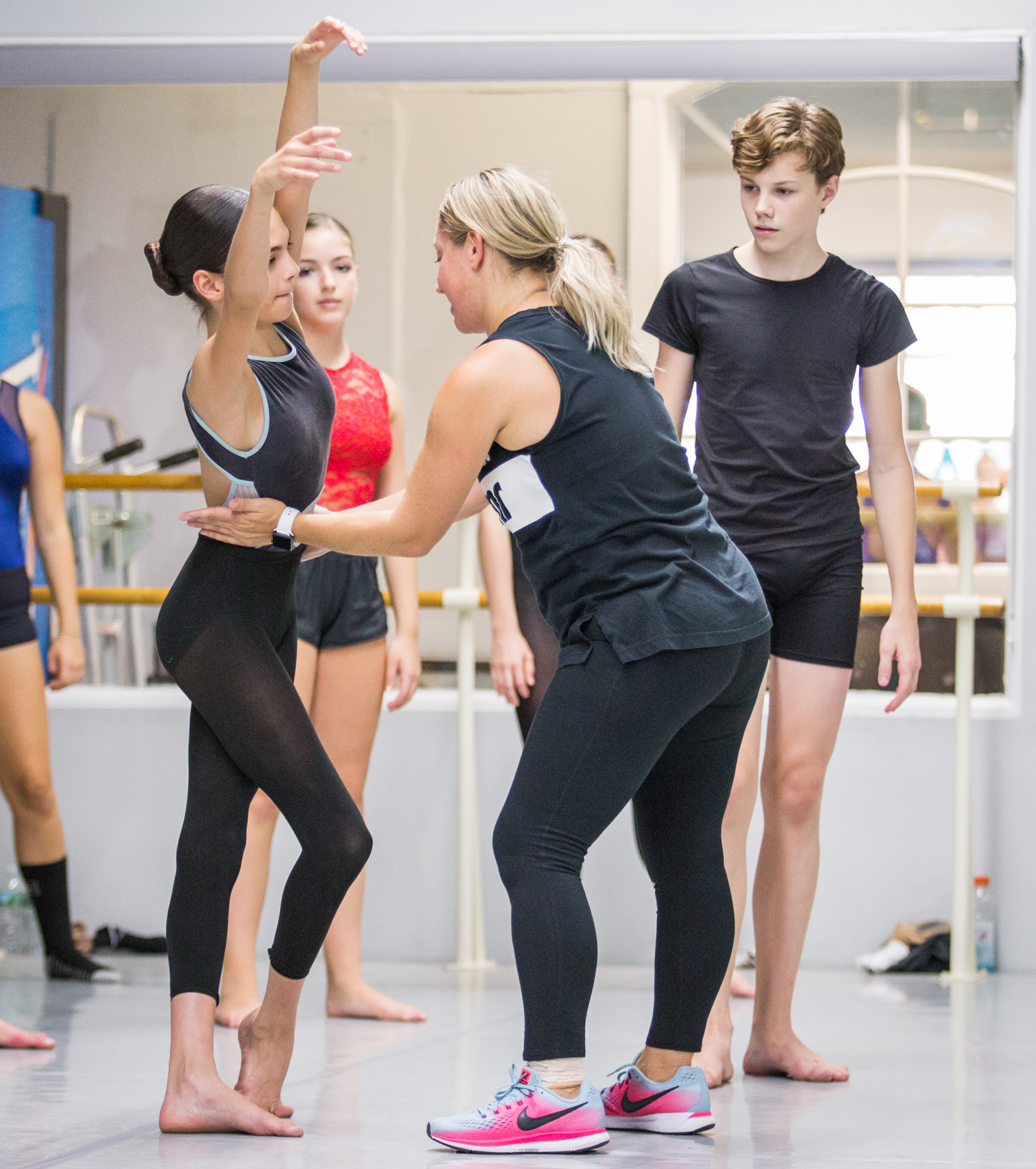 - Our in-studio workshops avoid the high costs of traveling to a convention and escape the crowded ballroom class environments by giving your dancers the opportunity to connect with each faculty member, and receive personalized attention and feedback.