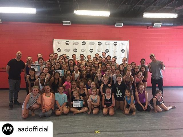 "Repost from @aadofficial • • • ♥️ ""What a great week of dancing! Thank you @stagedoorworkshops for a great intensive! THANK YOU to our incredible guest faculty for sharing your gifts with our dancers! Monique Smith, Devon Perri, Misha Gabriel, Michael Keefe, and Kaitlynn Edgar you guys are incredible, and our dancers are so lucky to have had the chance to train with some of the best of the best!"""