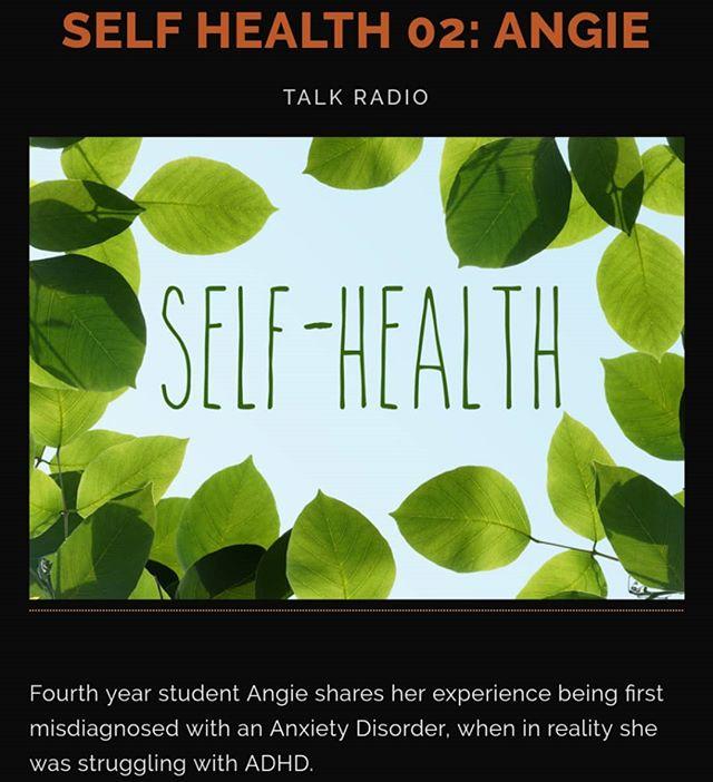 New episode out now! Link in bio⠀ ⠀ #Mentalhealth #adhd #Anxiety #selfhealth #ubco #localradio#podcast #indiepodcast #kelowna #okanagan #heatwaveradio #canadianmusic #campusradio