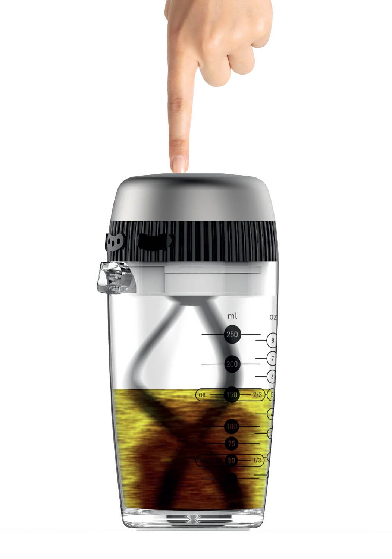 OTOMIX INOX - Mélangeur à vinaigrette à friction.50025 OTOMIX INOX