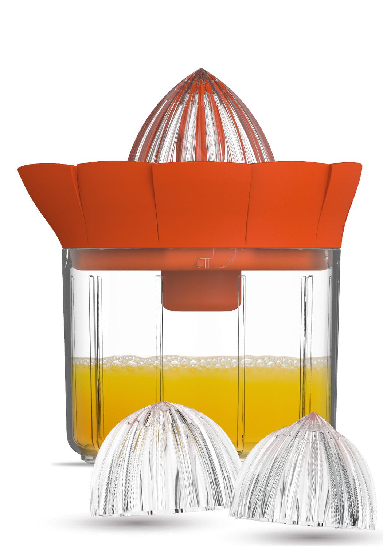ACcessoire Juicer - Adaptez l'insert JUICER et pressez oranges et pamplemousses sans effort grâce à son mécanisme démultiplicateur de force.• Démultiplicateur de force• Têtes en acrylique• 2 tailles de tête : orange et pamplemousse• Entretien facile500325 Play'On JUICER