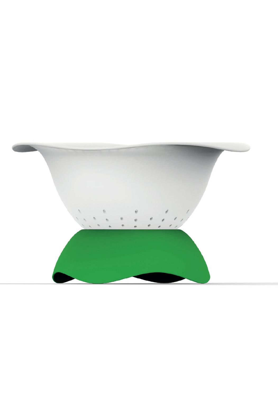 COLANDISH - • Passoire en tritan ou inox• Parfaite prise en main• Idéal pour poser dans l'évier• Nettoyage facile500290 - vert500291 - Taupe500292 - inox