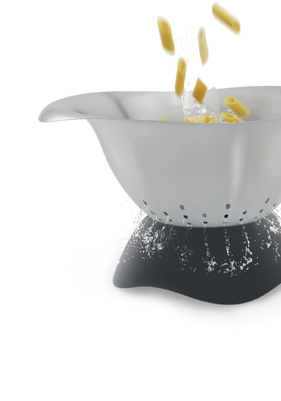 Égouttez en toute sécurité - Simple et compact, il suffit de retournez le silicone pour passer en position passoire. Idéal pour poser dans l'évier.