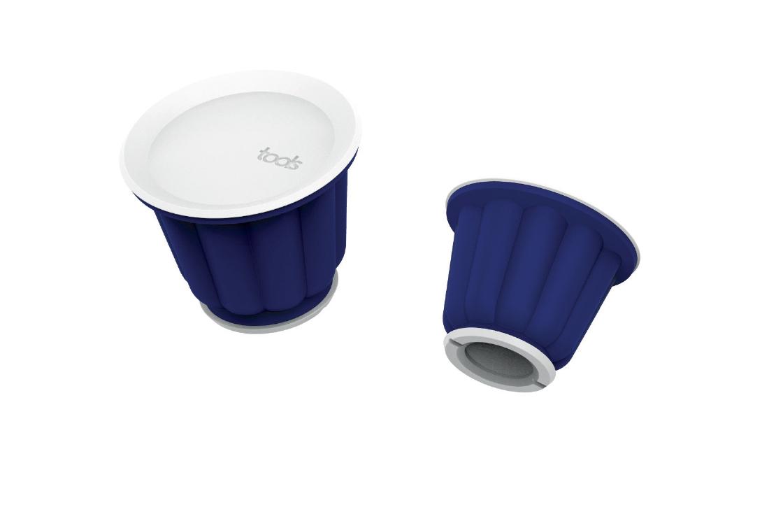 YUMMY -moule à flan - Ce set de 4 moules à flans et à puddings vous permettra de ravir petits et grands.• Astucieux, il passe au four, au micro-ondes et au bain marie• Contenance de 150 ml