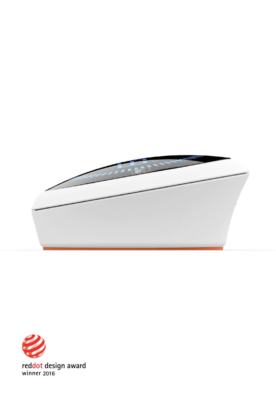Un design unique - Récompensé par un RedDot design award en 2016 pour son design et pour sa simplicité d' utilisation. Magnétique et antidérapant, il trouve facilement sa place sur vos appareils électroménagers (four, réfrigérateur, plan de travail).