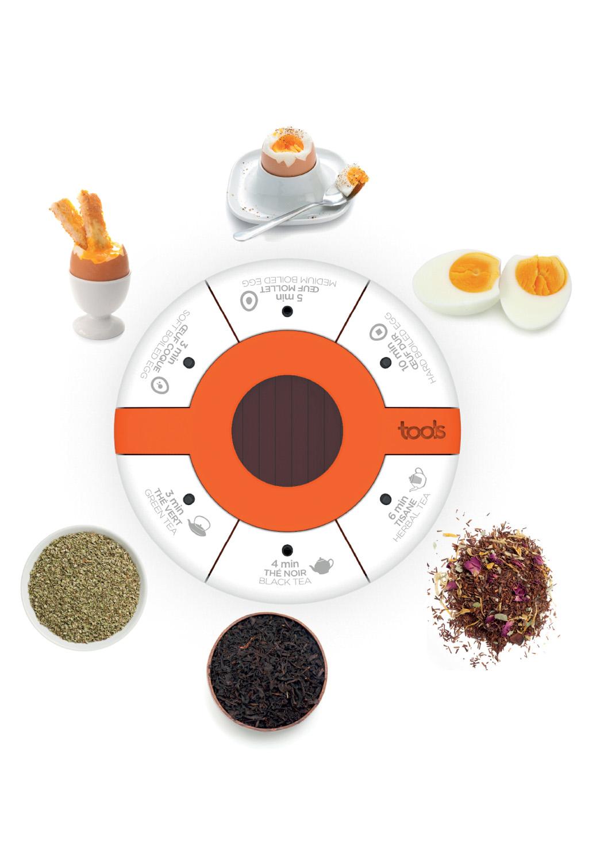 EGG&TEA TIMER - Le timer idéal pour les amateurs de thé et d'oeufs.• 6 temps pré-programmés• 3 pour les œufs / 3 pour le thé• Minuteur solaire• Minuteur magnétique500293 MINUTEUR ŒUFS / THÉS6 TEMPS PRÉ-PROGRAMMÉS