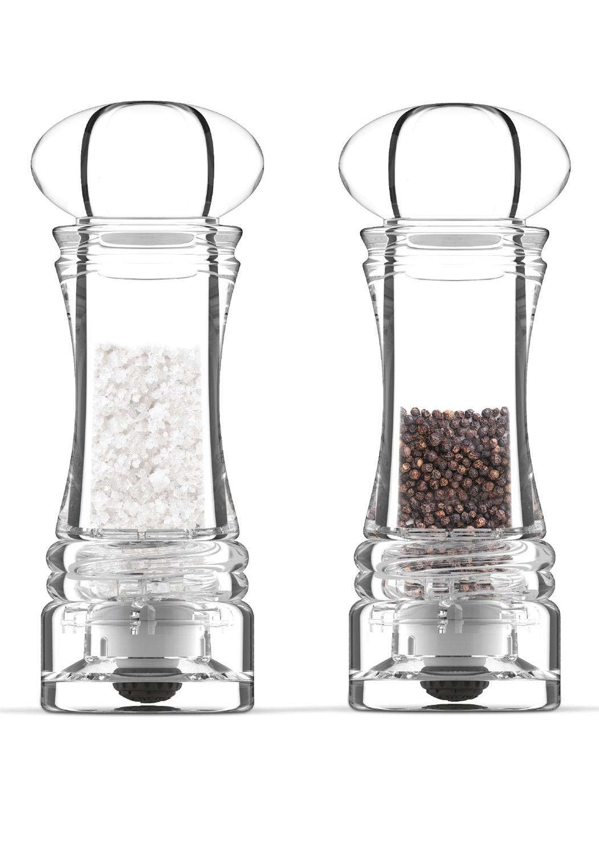 ACRILYC COLLECTION - • Moulin bistro en acrylique• Mécanisme céramique garanti 25 ans• Réglage de la mouture• Prise en main facileEN SAVOIR PLUS