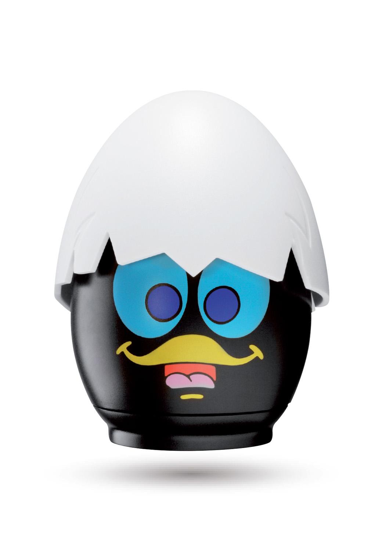 Cuisson micro-ondes - Pour préparer vos œufs au micro-ondes, que vous les désiriez coques, mollets ou durs, avec l'œuf micro-ondes Calimero tout est possible...500220P CUIT-Œuf Caliméro PLV 16 PIèCES
