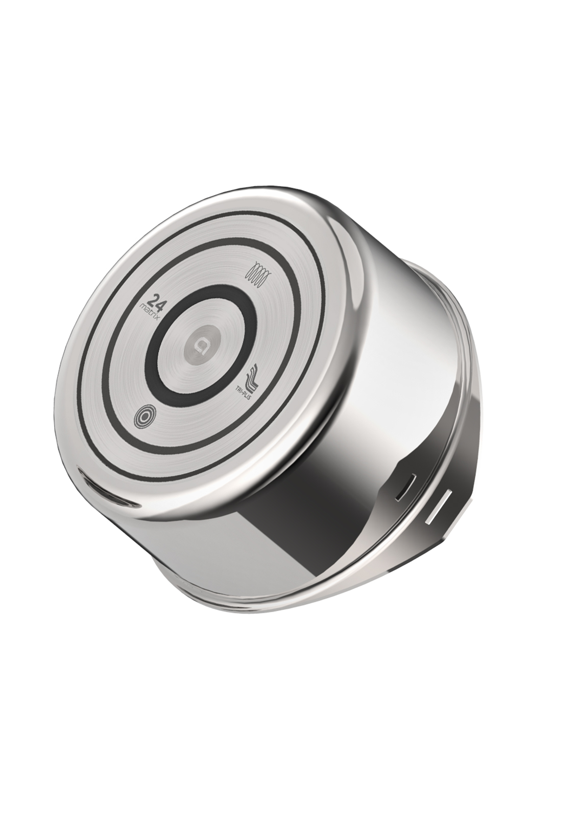 FOND bimatière SPIRAL® - Fond concentrique bimatière inox/aluminium unique sur le marché. Ce fond distribue uniformément la chaleur et est compatible sur tous les types de cuisson, y compris l'induction, économe en énergie.• Temps de cuisson réduits : les vitamines des aliments sont mieux préservées• Une excellente répartition de la chaleur• Économe en énergie : performant sur tous les feux, y compris induction