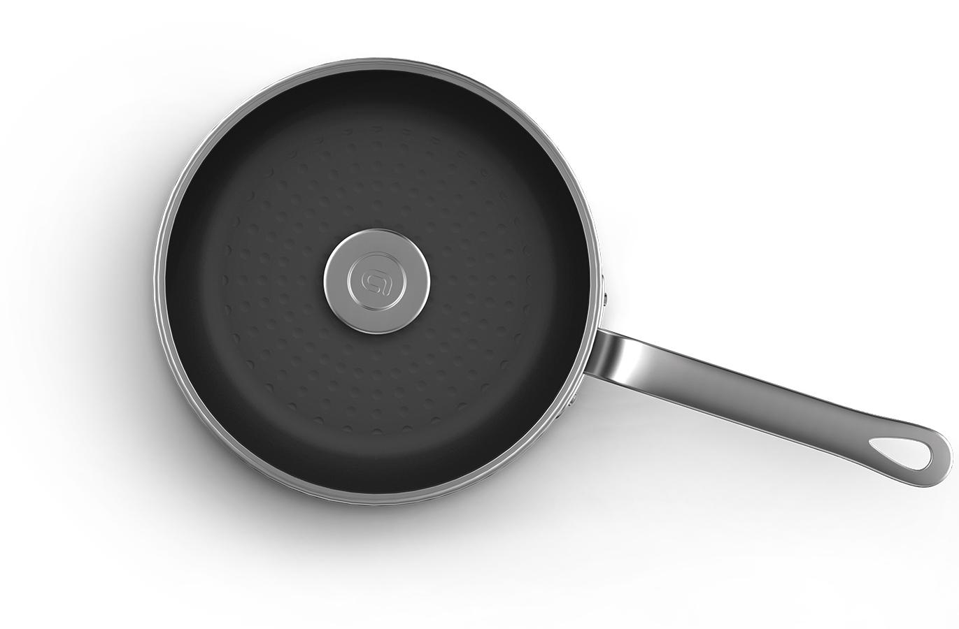 un design robuste - Le corps en aluminium poli confère à INDUCPRO 2.0 un design brut et robuste. La plaque anodisée vient isoler le corps de la poignée creuse en fonte.• Très bonne prise en main tout en sécurité • Une grande robustesse