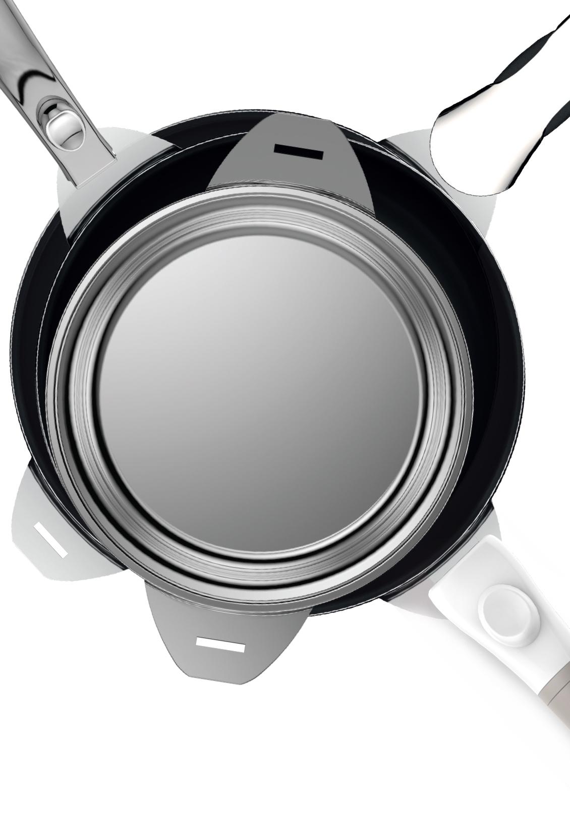 COMPATIBilité - Ces 3 poignées s'adaptent à l'ensemble des ustensiles des gammes :• Evergreen in White Plug'n Play• Grands Chefs Plug'n Playen savoir plus