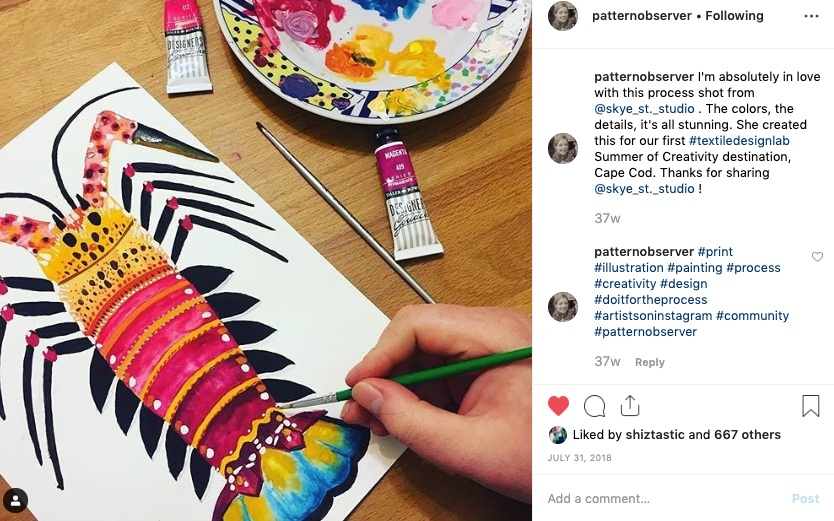 PATTERN OBSERVER - Pattern Observer Instagram Feature - Summer of Creativity 2018