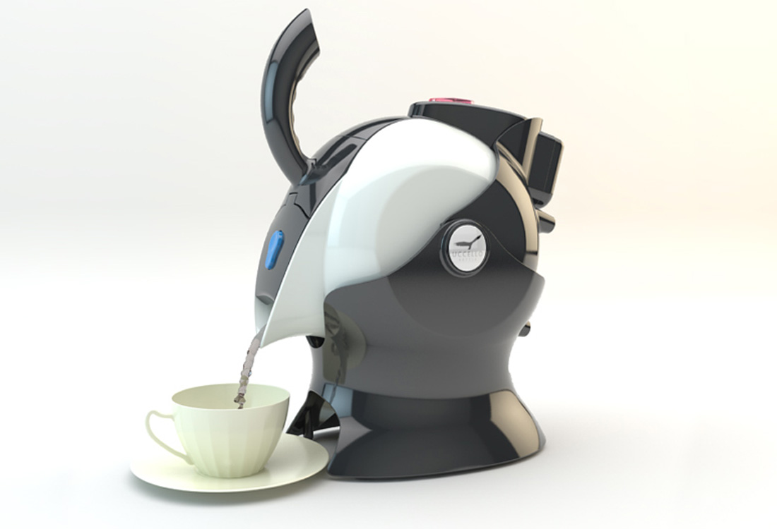 Uccello Kettle Design
