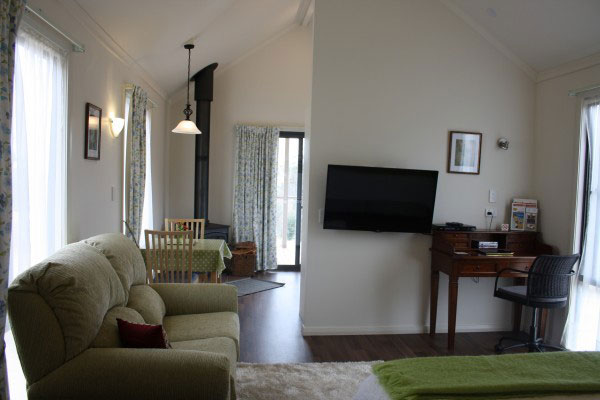 Grace Cottages — cosy living area