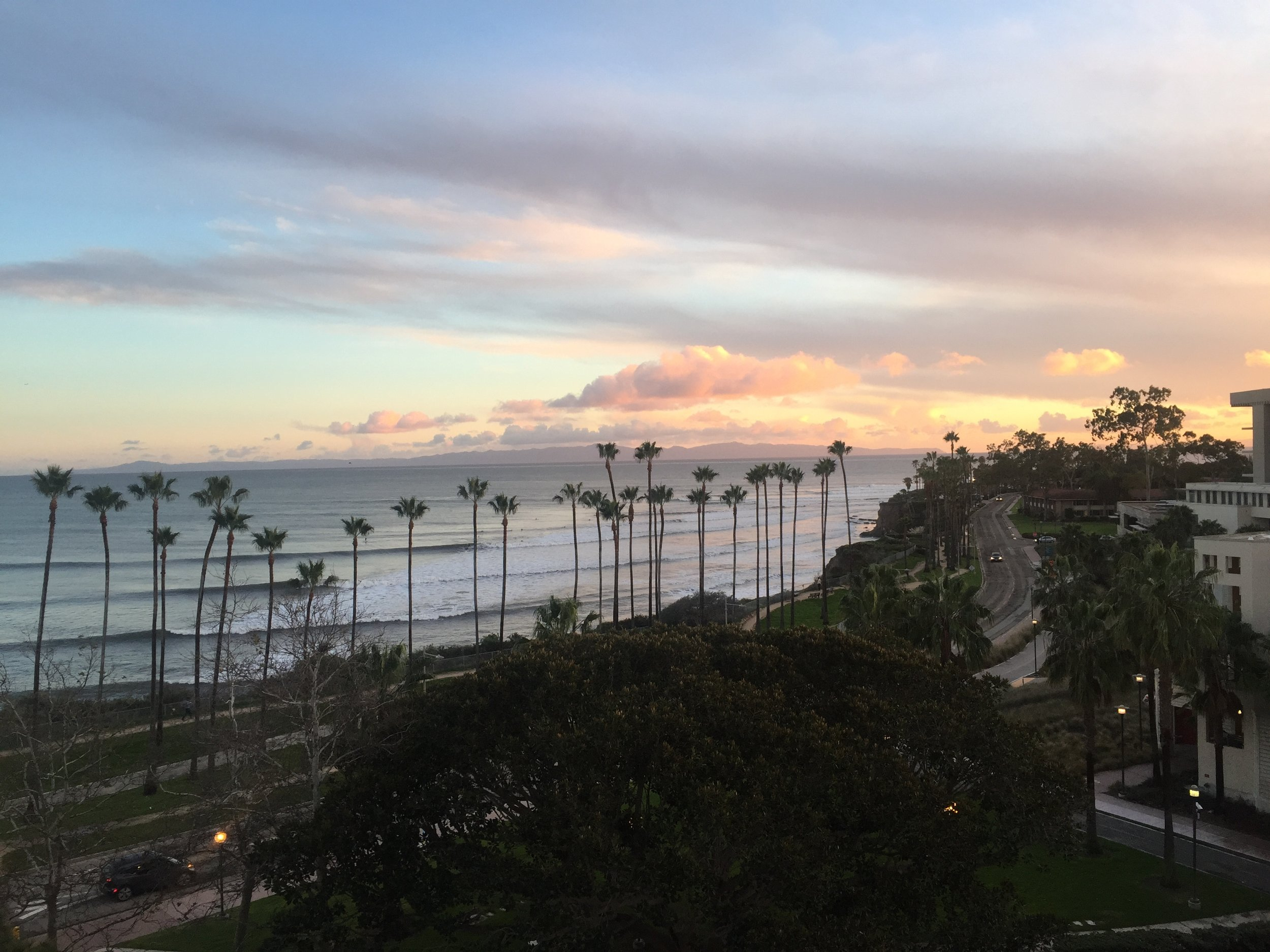 View from the window of the ArchLab at UC Santa Barbara