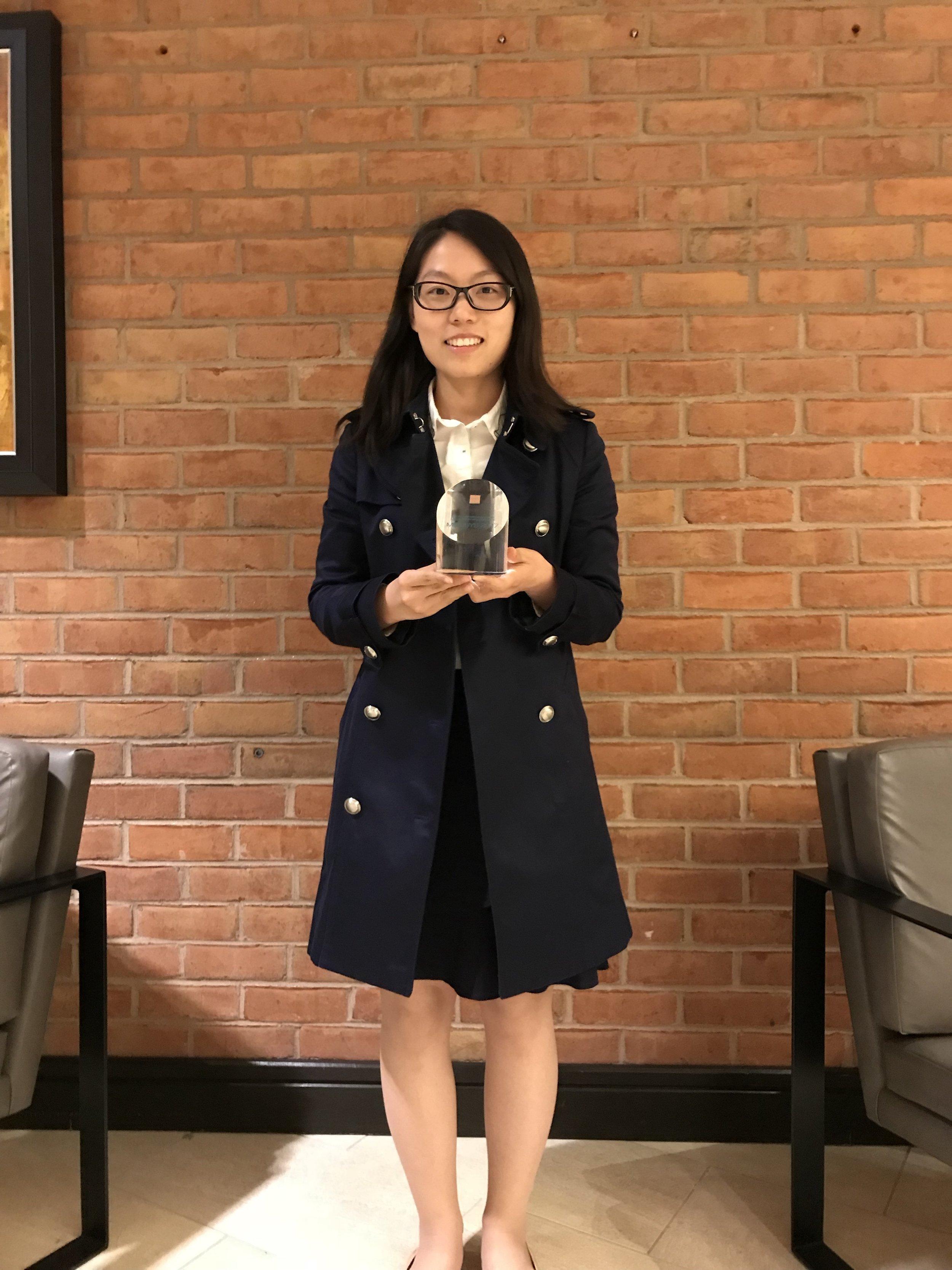 Zhaoxia Deng, Best Paper