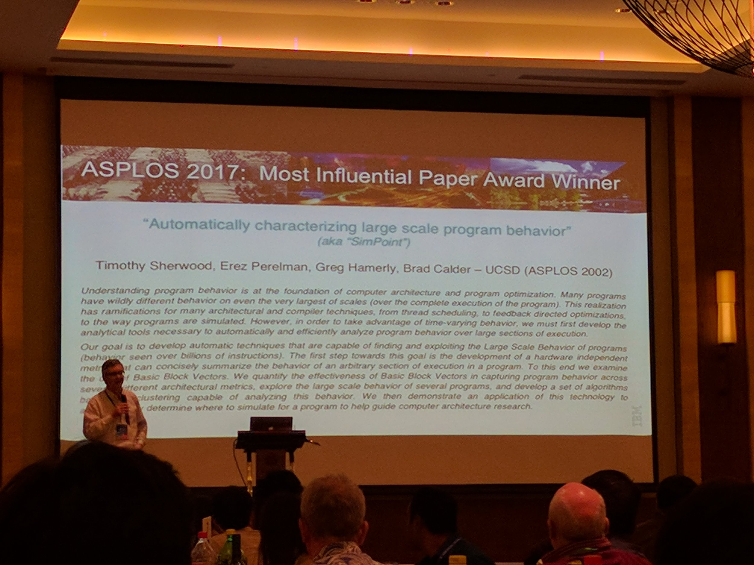 SIMPOINT, Most Influential Paper
