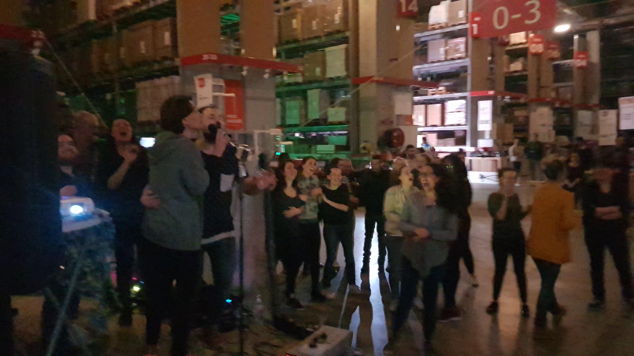 Patrice R.. - Resp. R.H. @  IKEA   ★★★★★  Nicolas et son équipe ont mis le feu pour cette soirée de folie à IKEA Tours. 180 salariés plus qu'enchantés !!! Très belle soirée futuriste avec différentes animations pour tous ... à refaire !!!