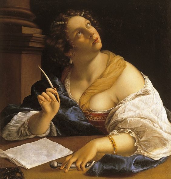 Gentileschi,Alegoría de la retórica, 1630