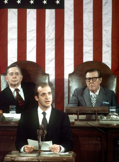Juan Carlos I, dircurso en EEUU, 1976.
