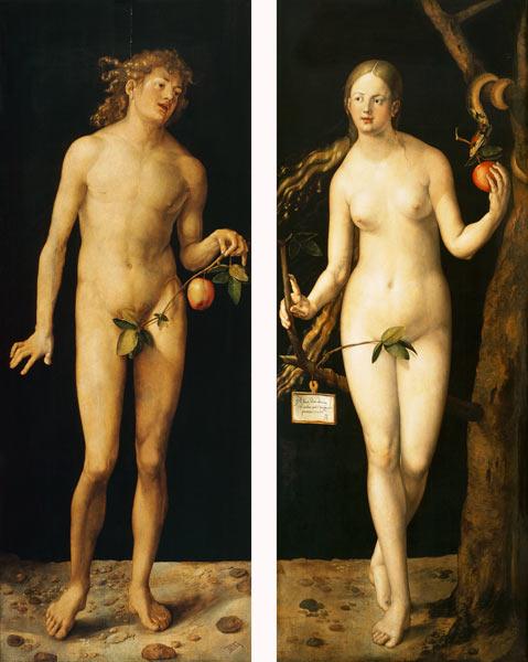 Adán y Eva.