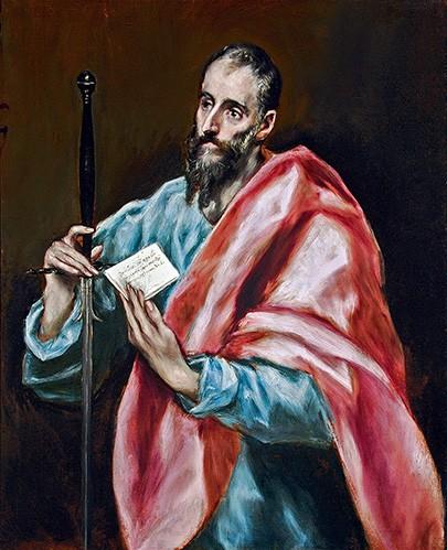San Pablo, El Greco.