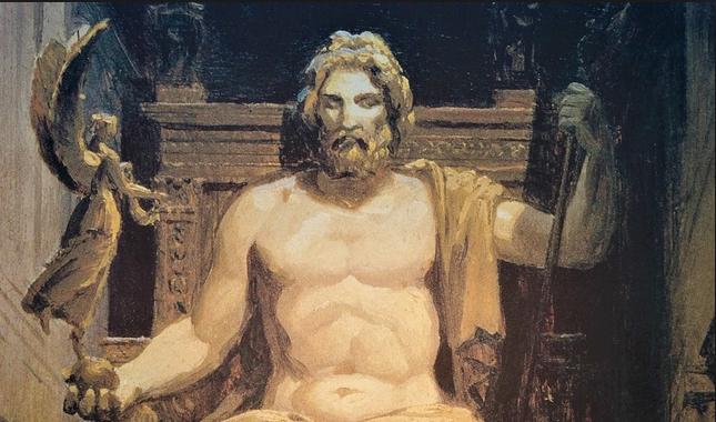 Zeus,  «padre de los dioses y los hombres»