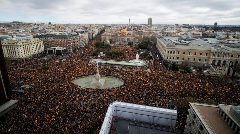Concentración 10-02-2019 Plaza de Colón. Madrid