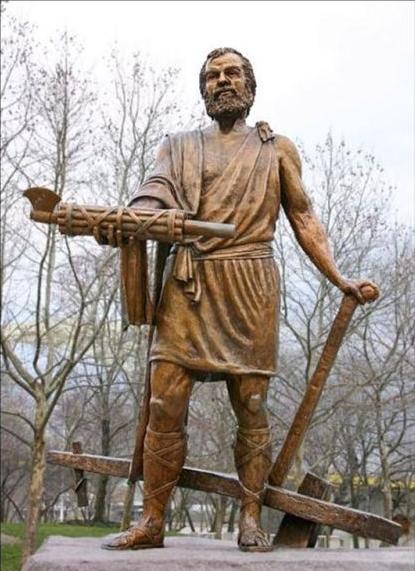 Cincinato estatua.