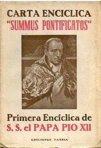 Summi Pontificatus.