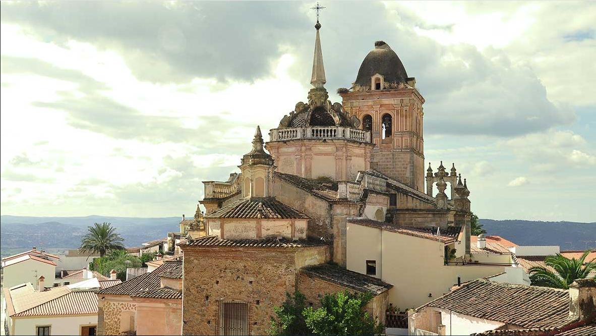 Iglesia de Santa María de la Encarnación. Templo de la época visigoda ( Año 594) Jerez de los Caballeros.