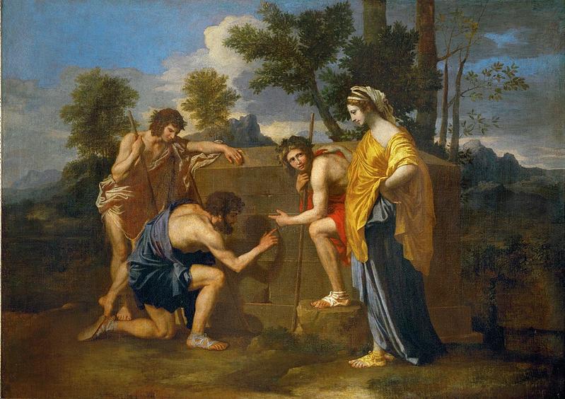 Et in Arcadia ego (1637-38) Nicolas Poussin (1594-1665) Museo del Louvre. París.